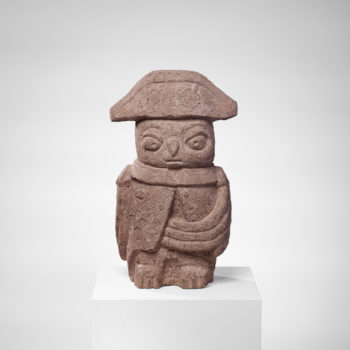 Napoleon Owl | Sandstone | 51x30x25cm | 2012