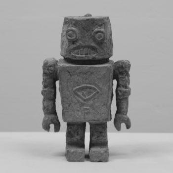 Robot | Sandstone | 27 x 17 x 10 cm  | 2012             |2011