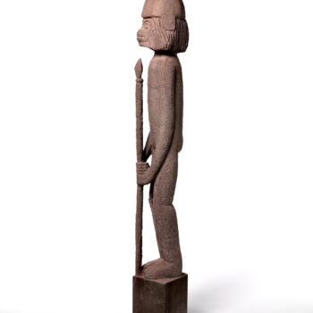 Guardian of the Platonic State   Sandstone   155,5x18x18cm   2007