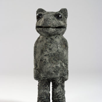 Ferdinand ( with the Pearls who were his Eyes | Dolorite | 60 x 25 x 20 cm
