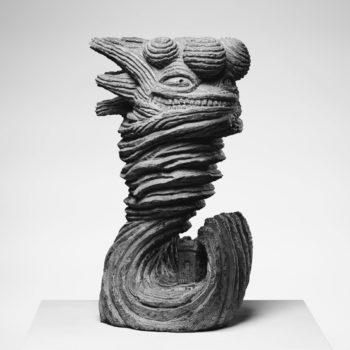 The Storm | Sandstone | 66x25x20cm | 2012