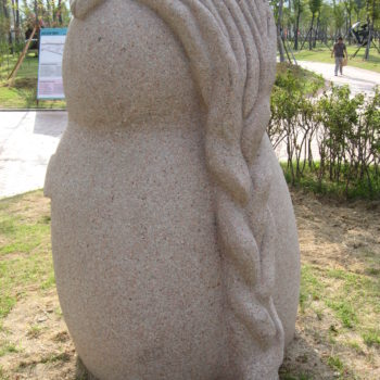 The Division of Woman and Man | Granite | 230x175x130cm | 2008 | Apec Park Busan | South Corea