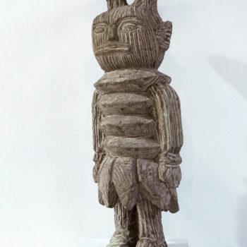 Bonehead with Bananaskirt   Sandstone   60 x 20 x 15 cm   2014