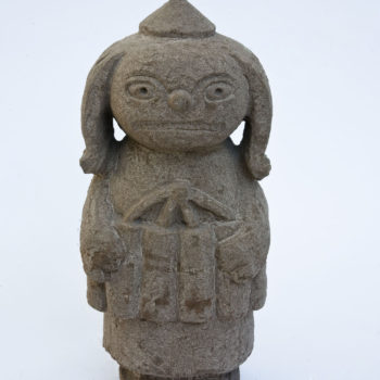 Clown of Anger | Sandstone | 45x18x15cm | 2009