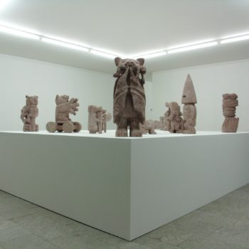 Exhibition view | Fama -  Good and Bad Speech after Death | Patricia Low Contemporary | St.Moritz | 2012