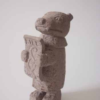 Prosecuter   Sandstone   39x19x10cm   2011