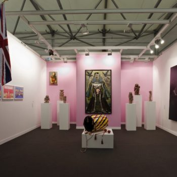 Installation view | Sorry we`re Closed | Booth at Fiac Cour Carree | 2009