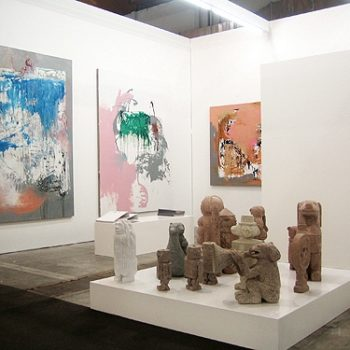 Booth of Cruise & Callas at Art Brussels 2012