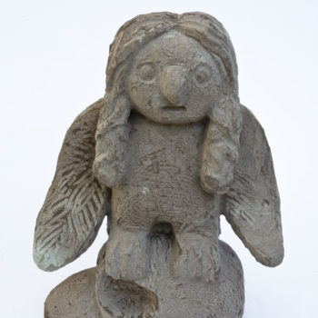 Eulalia - Widom already dead | Sandstone | 27 x 36 x13 cm | 2009