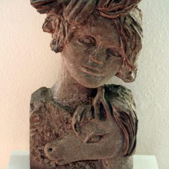 Mein Pony und Du | Sandstone | 65 x 33 x 18 cm | 2006