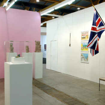 Booth of Sorry We `re Closed   Art Brussels   2009