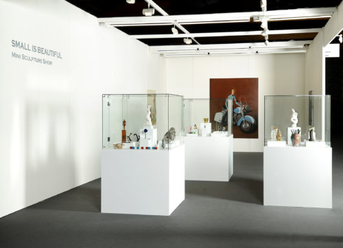 Stefan Rinck - Mini Sculptures Show   Sorry We're Closed   Art Brussels   2010