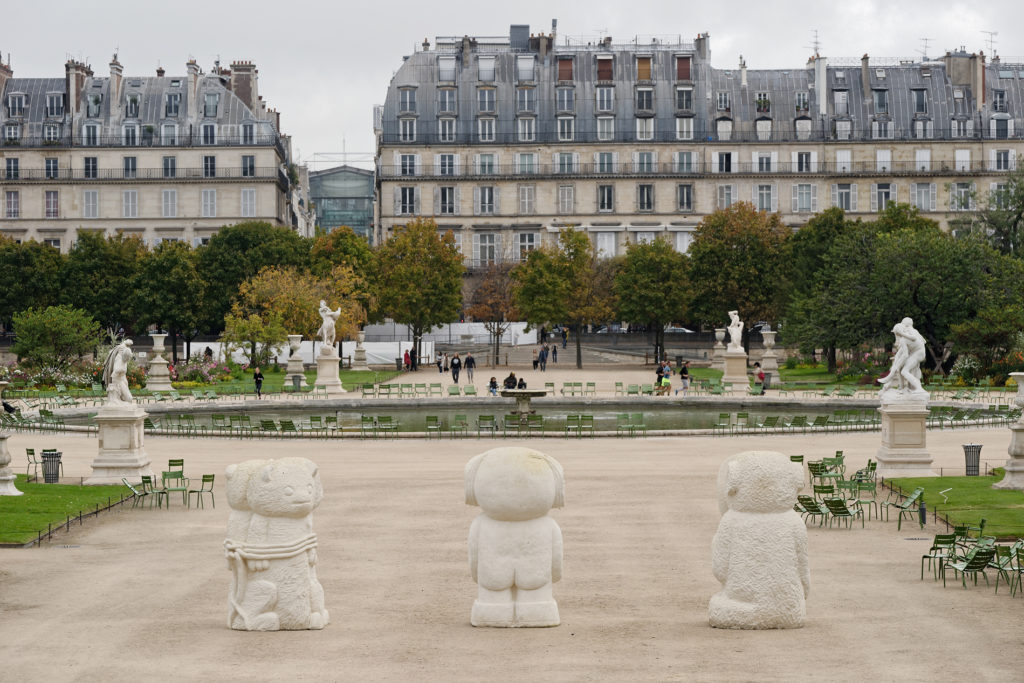 Stefan Rinck - FIAC Hors les murs   Jardin des Tuileries   Paris   October 2017