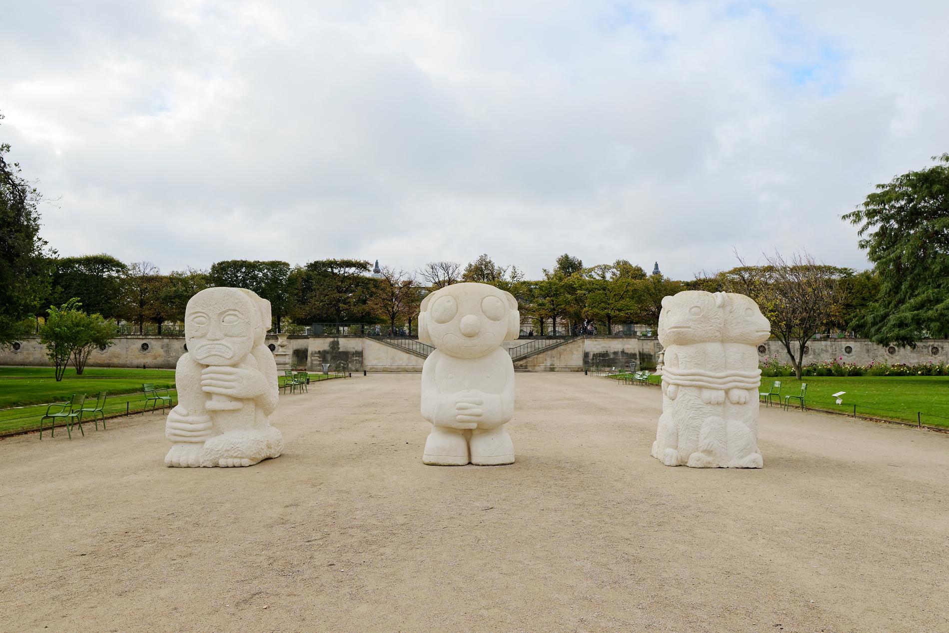 Stefan Rinck - FIAC Hors les murs | Jardin des Tuileries | Paris | October 2017