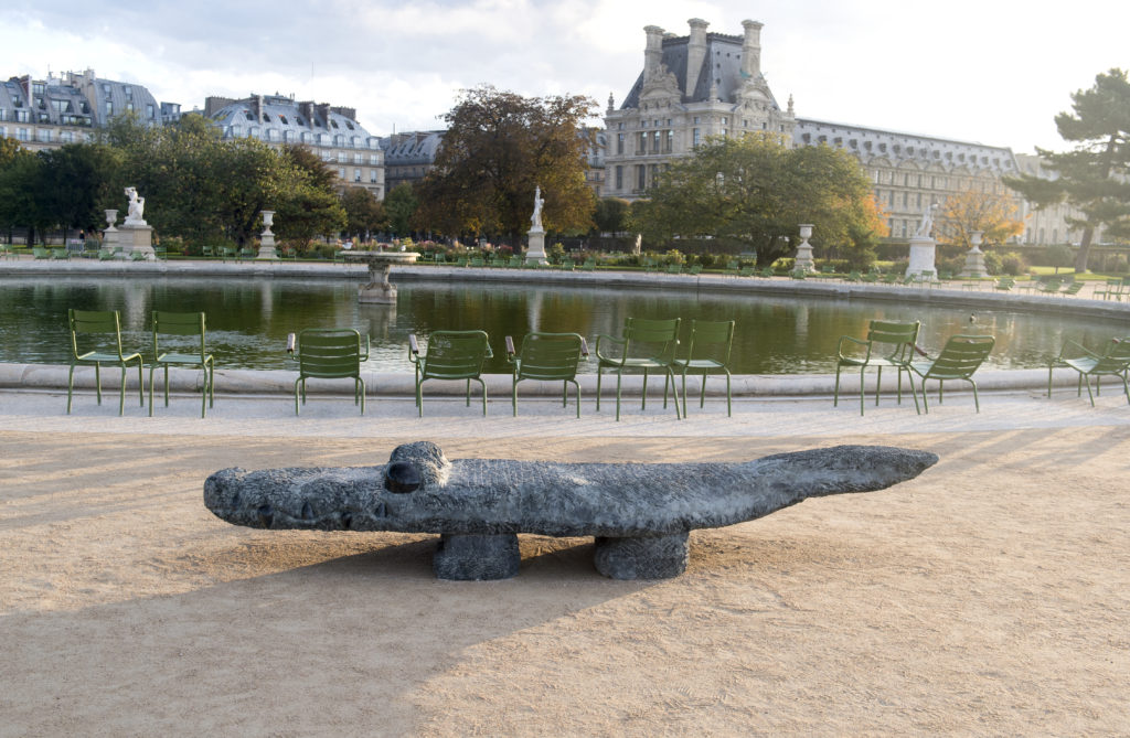Stefan Rinck - FIAC Hors les murs   Jardins des Tuileries   2019   Paris