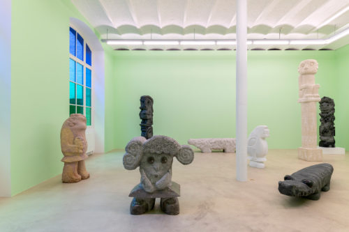 Stefan Rinck - In this Garden he Reads the Diary of the World | January 30 - March 20, 2021 | Sorry We're Closed | Brussels