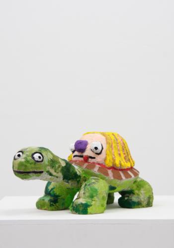 Stefan Rinck, Bark Berlin Gallery, Sandstone, Acrylic